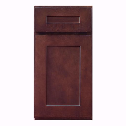 Picture of Shaker Dark Complete Cabinet Set