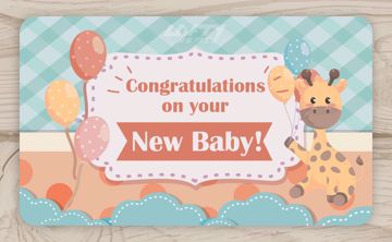 Picture of Congratulations on your New Baby! Cute!