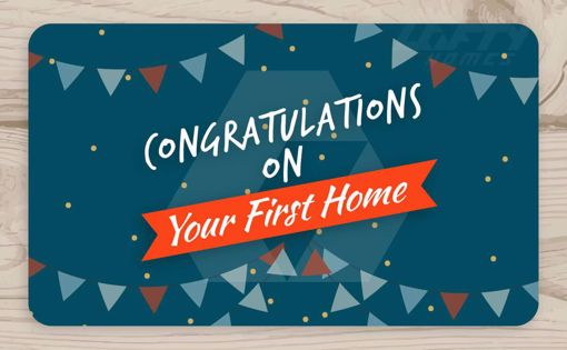 Picture of Congratulations on Your First Home