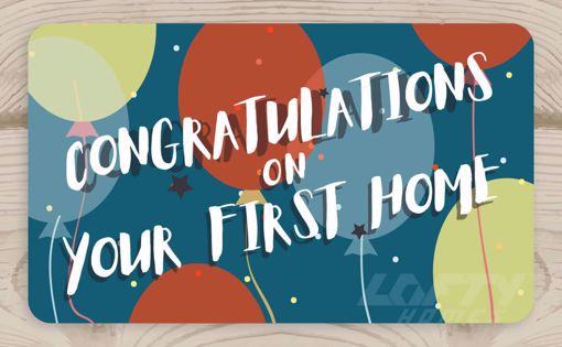 Picture of Congratulations on Your First Home - Party Balloons