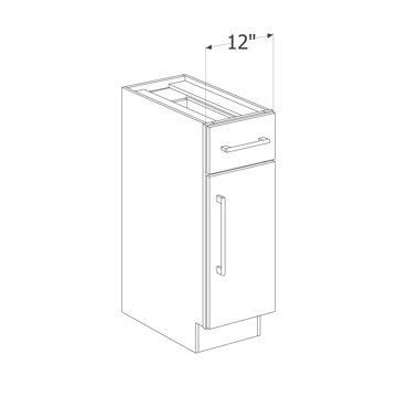 Picture of Maple Raised Panel - B12 L/R
