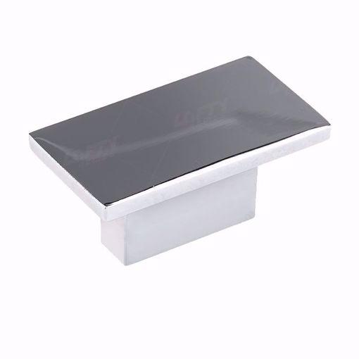 Picture of Modern Metal Polished Nickel Knob - 810