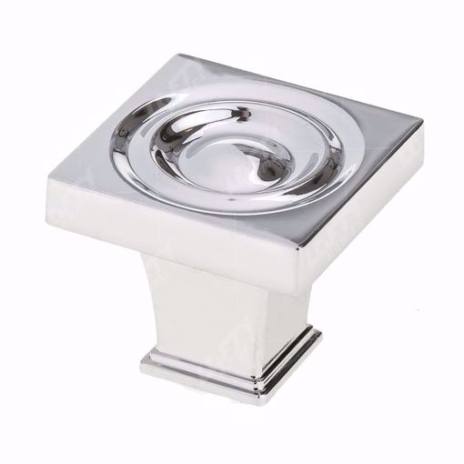 Picture of Transitional Metal Chrome Knob - 8822