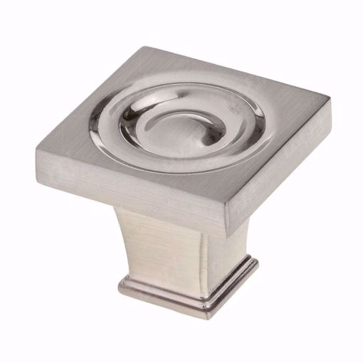 Picture of Transitional Metal Brushed Nickel Knob - 8822