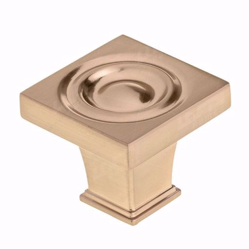 Picture of Transitional Metal Champagne Bronze Knob - 8822