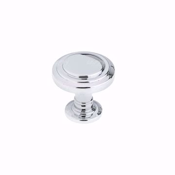 Picture of Traditional Metal Chrome Knob 8818