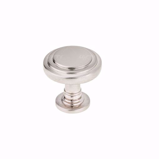 Picture of Traditional Metal Brushed Nickel Knob -  8818