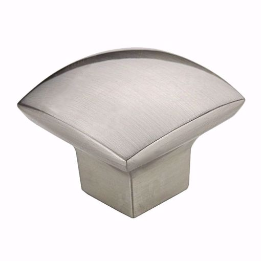 Picture of Modern Metal Brushed Nickel Knob - 8143