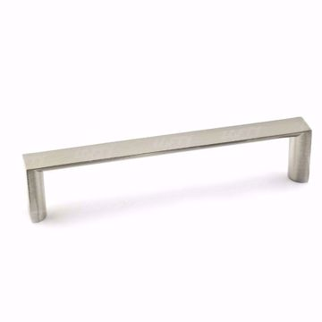 Picture of Modern Metal Brushed Nickel Pull - 5632