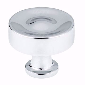 Picture of Traditional Metal Chrome Knob - 8855