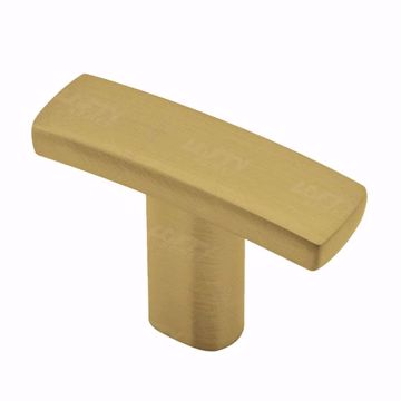 Picture of Transitional Metal Satin Brass Knob - 650
