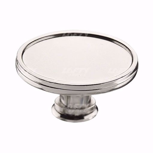 Picture of Transitional Metal Polished Nickel Knob - 8023