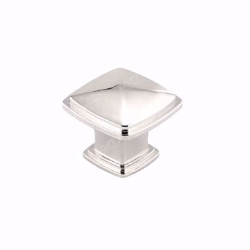 Picture of Transitional Metal Polished Nickel Knob - 810