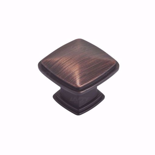 Picture of Transitional Metal Brushed Oil-Rubbed Bronze Knob - 810