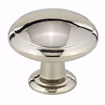 Picture of Transitional Metal Polished Nickel Knob - 8093