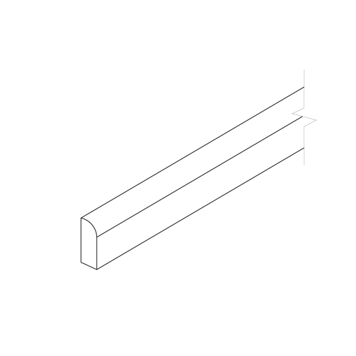 Picture of White Shaker - Scribe Molding