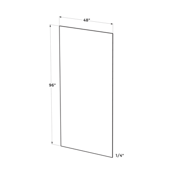 Picture of White Shaker - Plywood Panel